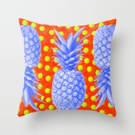Pineapple Oyster Throw Pillow