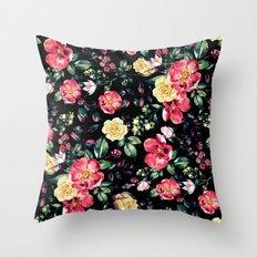 Beautiful Garden III Throw Pillow
