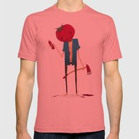 Ketchup? Mens Fitted Tee Pomegranate SMALL