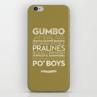New Orleans — Delicious City Prints iPhone & iPod Skin
