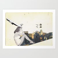 Longing For The City Art Print