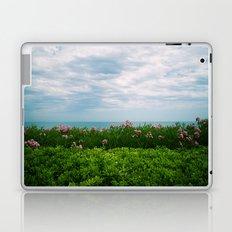 orizzonte fiorito Laptop & iPad Skin