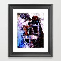 The Seated Woman Framed Art Print