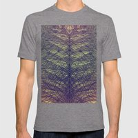feather Mens Fitted Tee Tri-Grey SMALL