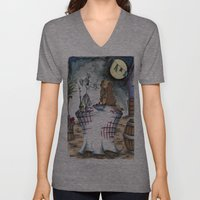 Lady and the Tramp Unisex V-Neck