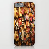 Knock On Wood...With Your Feet iPhone 6 Slim Case