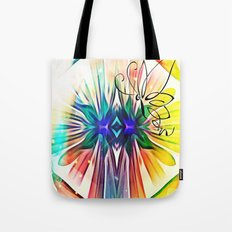 Shapes Fly Tote Bag