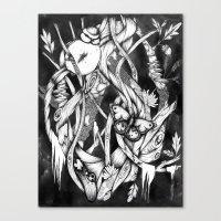 Dark Canvas Print