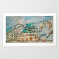 Livingston Sports Centre… Art Print