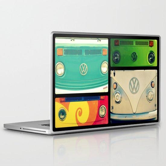 VW Collage Laptop & iPad Skin