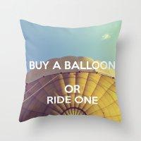 Buy A Balloon Throw Pillow