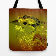 Amber Bird Tote Bag