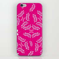 ORGANIC & NATURE (GIRL) iPhone & iPod Skin