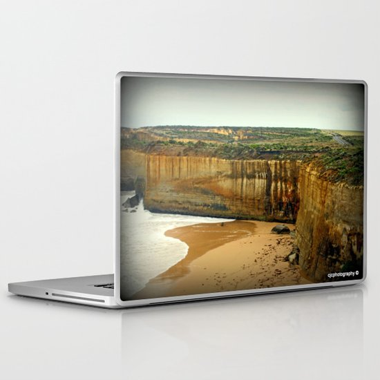 Gigantic limestone Cliffs Laptop & iPad Skin