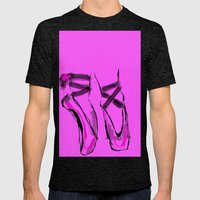 Ballerina Mens Fitted Tee Tri-Black SMALL