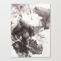 Drawing Restraint Canvas Print