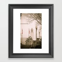 Vicksburg Downtown II Framed Art Print