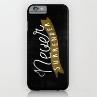 iPhone & iPod Case featuring Never Surrender by Koning