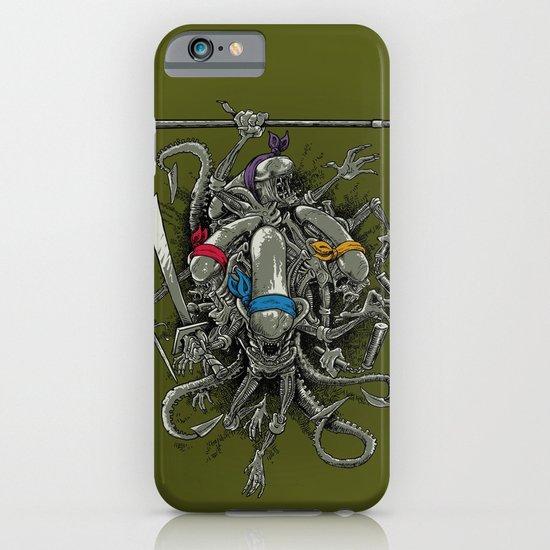 Ancient Ninja Xenomorphs iPhone & iPod Case