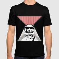 spacewoman Mens Fitted Tee Black SMALL