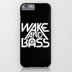 Wake And Bass (White) iPhone 6s Slim Case