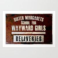 Sister Margaret's School For Wayward Girls Art Print