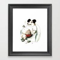 Mass Mickey Framed Art Print