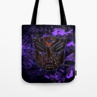 Autobots Abstractness - … Tote Bag