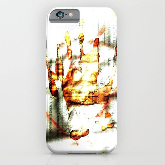 Trace of the hand iPhone & iPod Case