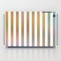 Striped Pattern In Paste… iPad Case