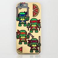 Teenage Mutant Ninja Turtles Pizza Party iPhone 6 Slim Case