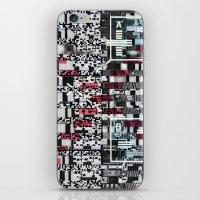 Part Wash (P/D3 Glitch C… iPhone & iPod Skin