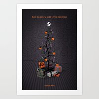The Nightmare Before Christmas Promo Poster Art Print