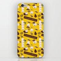 Chocolate Wasted (yellow… iPhone & iPod Skin