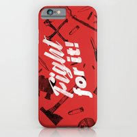 Fight For It iPhone 6 Slim Case