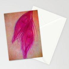 Vintage Pink Stationery Cards
