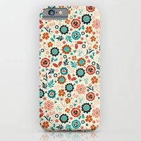 Folk Flowers iPhone 6 Slim Case