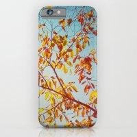textured leaves. iPhone 6 Slim Case