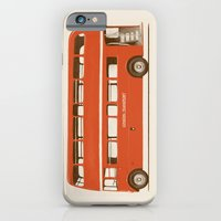 Red London Bus iPhone 6 Slim Case