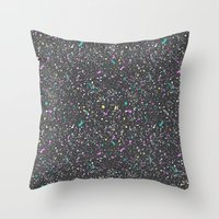 Splat goes the Paint Throw Pillow