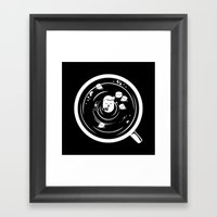 Hot Chocolate Time! Framed Art Print