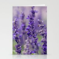 Lovely Lavender Stationery Cards