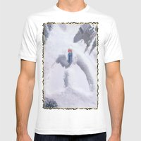 Snow Mens Fitted Tee White SMALL