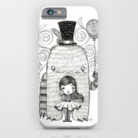 iPhone Cases featuring My Monster Friend by Sabrina Eras