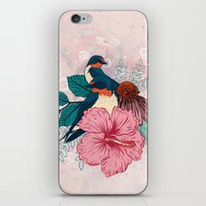 Barn Swallows iPhone & iPod Skin