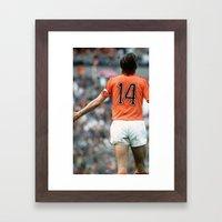 JC14 Cruijff Framed Art Print