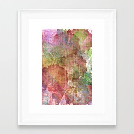 Abstract Me Framed Art Print