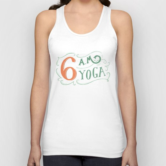 6AM Yoga Unisex Tank Top