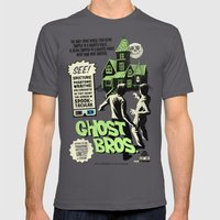 Ghost Bros! Mens Fitted Tee Asphalt SMALL