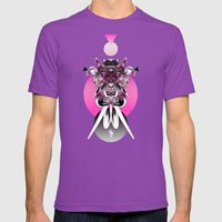 Ms. Juggernaut Mens Fitted Tee Ultraviolet SMALL